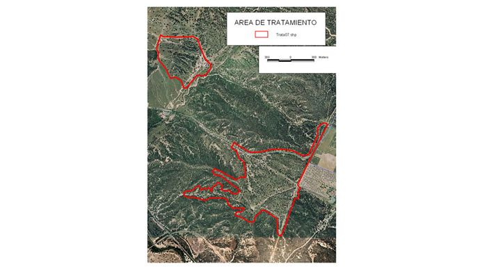 Air treatment planning at Monte de El Pardo